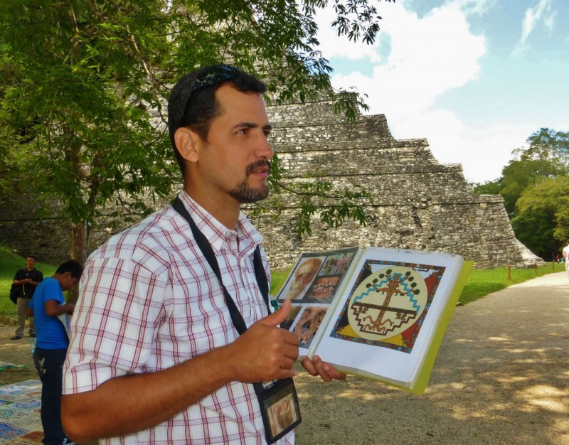 We hired Rafael to take us around.  He was more knowledgeable than we could have imagined, explaining Mayan numbering, mathematics, history, calendar, astronomy and much more.  I'd share some, but it was mind boggling, and I've already forgotten most of it.  I'll let you know if it ever comes back!