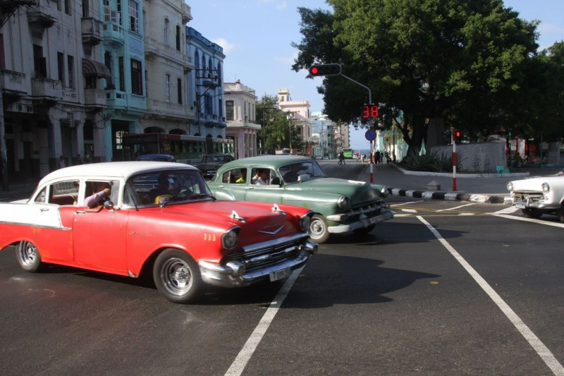 Ok, I admit it.  The number one reason I wanted to go to Cuba was to see the old cars.  They did not disappoint.  The whole country is teaming with them and in Havana they seem to outnumber post 1960 vehicles by about 3 to 1.  More on the cars later.