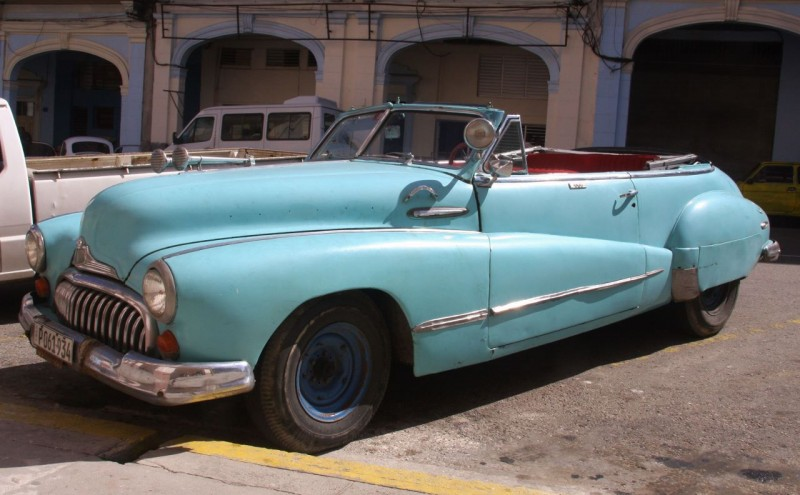 My Dad had a Buick like this in college. A 1948 Roadmaster convertible.