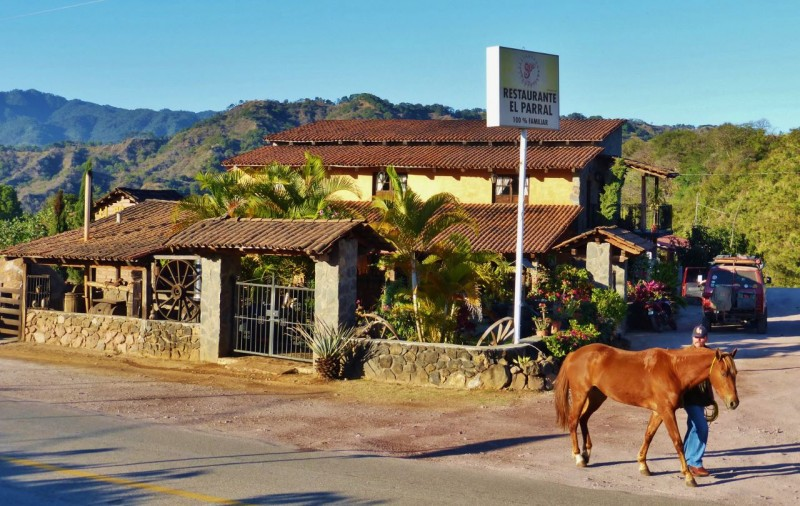 We drove by this charming place in La Estancia, outside of San Sebastián in the state of Jalisco and realized that it was a tequila distillery.  Looks like we hit the jackpot on this blind corner!
