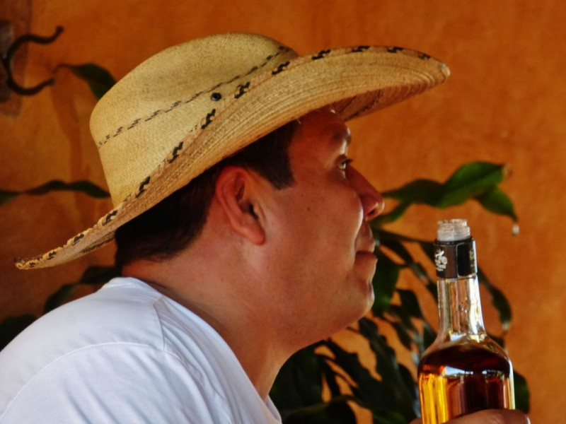 Eduardo, the owner was passionate about his tequila.