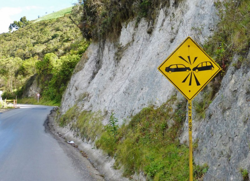 Our favorite Colombian sign…and the most prevalent!