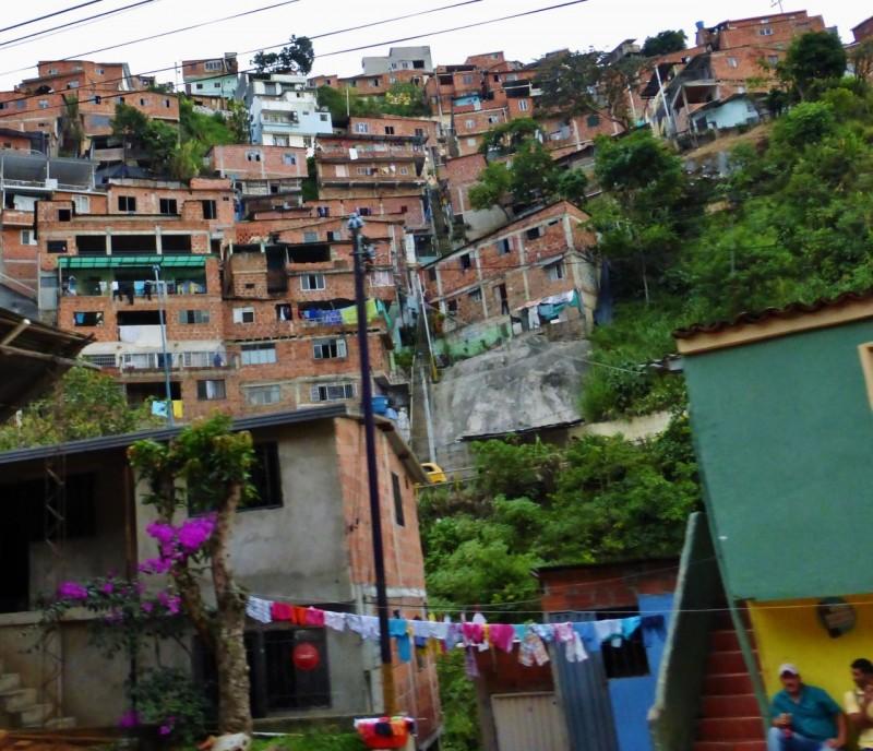 The outskirts of Bucaramanga.