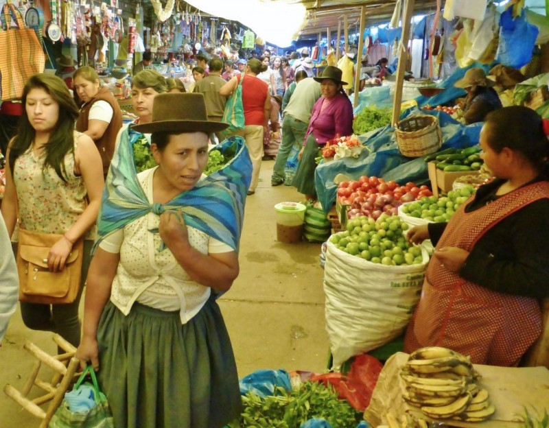 Back in 2008 one of our favorite stops on the way to Cusco was the open air market in the town of Abancay.  Despite our poorly condition, this stop could not be missed. As before, it was a magical place with the most friendly vendors and crazy sights imaginable.  All you vegetarians beware of the photos below!