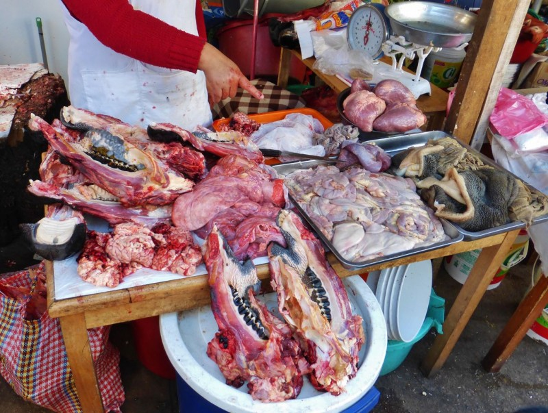 Yummm!  Cow parts anyone?