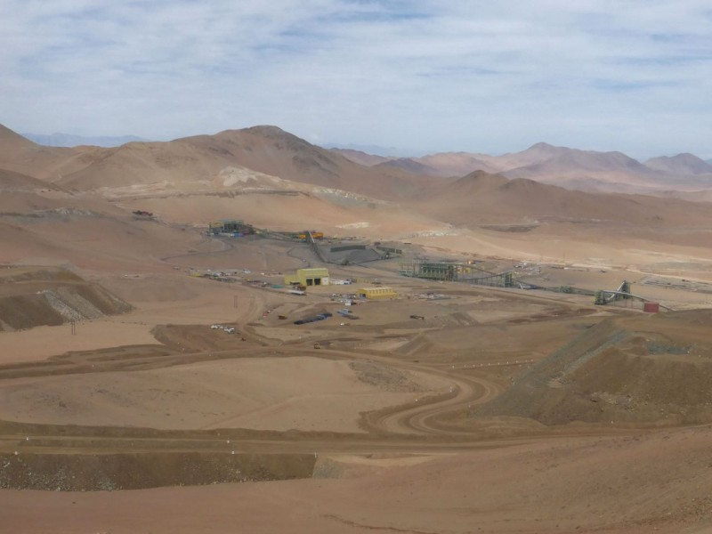 Mining is the greatest economic asset of a desert, and here in the Atacama, copper and nitrates are the most common minerals extracted.