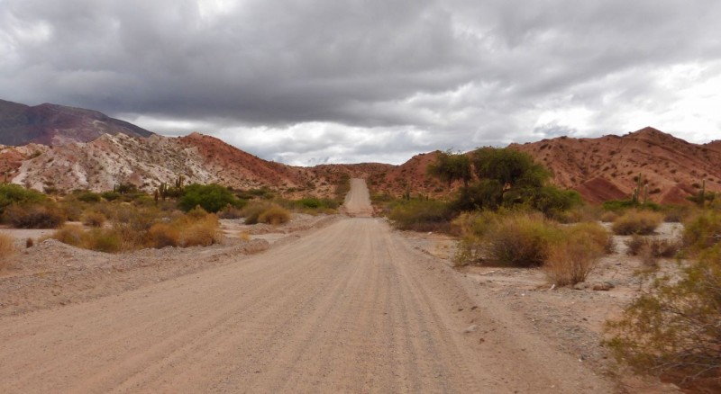 After another peaceful night camping in the canyon, we headed east from Seclantás on the RP 42S, finding another deserted dirt highway.  By the time we broke camp that morning, we had spent two blissful days without seeing a single road, car or person…certainly a record for this trip.