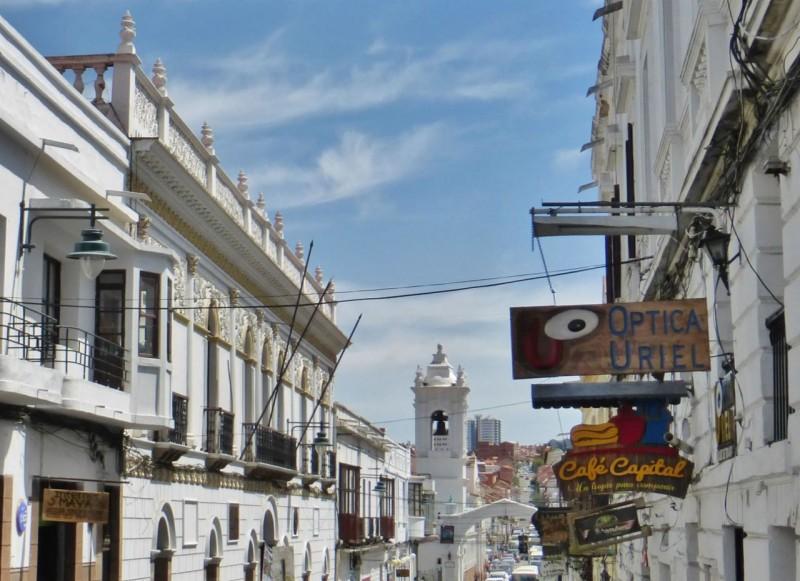 Sucre skyline.