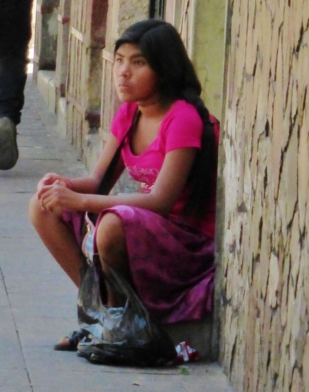 This prostitute looked to be about 13 years old.