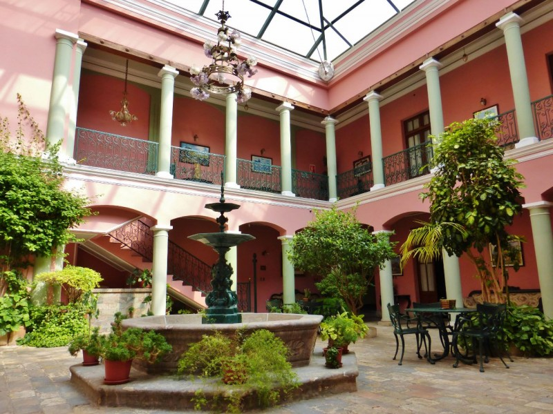 We checked in to the Capital Plaza Hotel, a beautiful old colonial right on the main square – for $55 bucks a night.