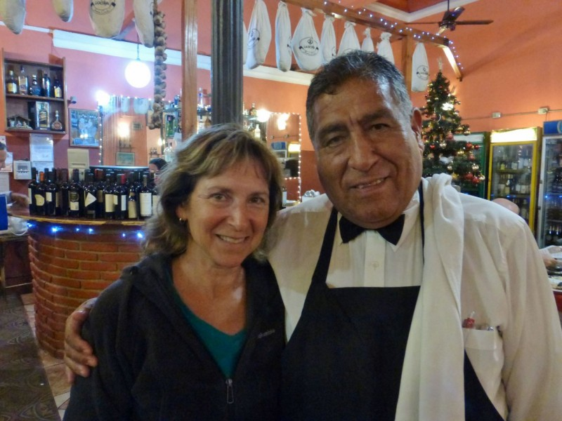 Our waiter Roberto has been working at Jovi for 42 years.  He recommended the Cab and served us with an old world hospitality not found much these days.