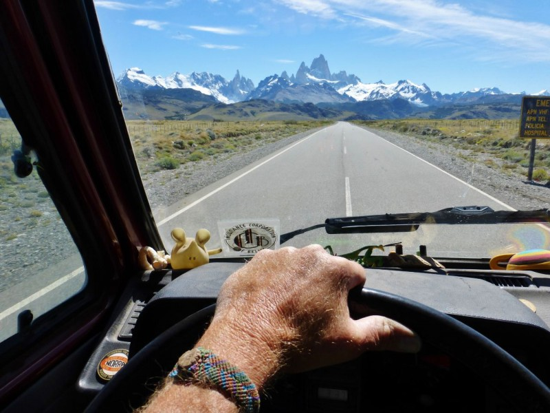 Driving into El Chaltén, we got our first glimpse of the stunning Fitz Roy.  Chaltén is a relatively new town, built only in the 80's to support the booming interest in trekking.  We stayed two nights in the town campground (which was filthy), but enjoyed some really great meals…