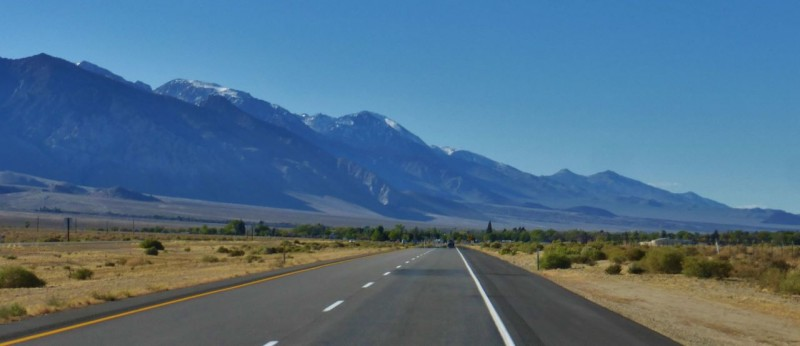 Even after 30,000 miles of the Americas, US395 and the Eastern Sierras remain a breathtaking drive.