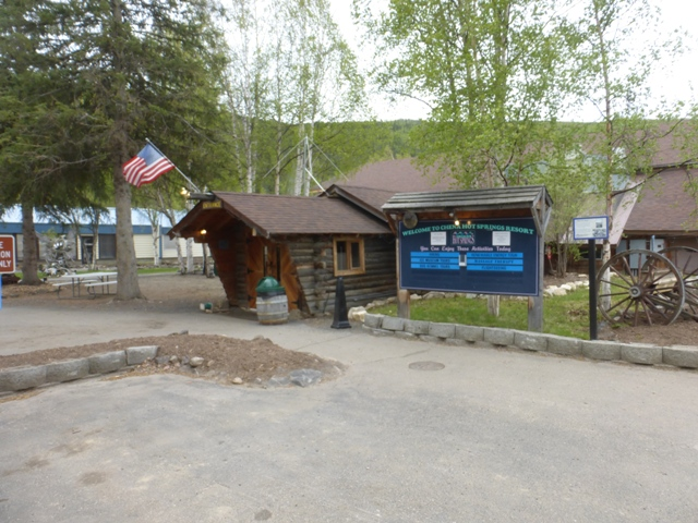 Our first stop after finishing the Dalton was Chena Hot Springs just outside of Fairbanks. A hot springs seemed like just the thing after the frosty arctic.