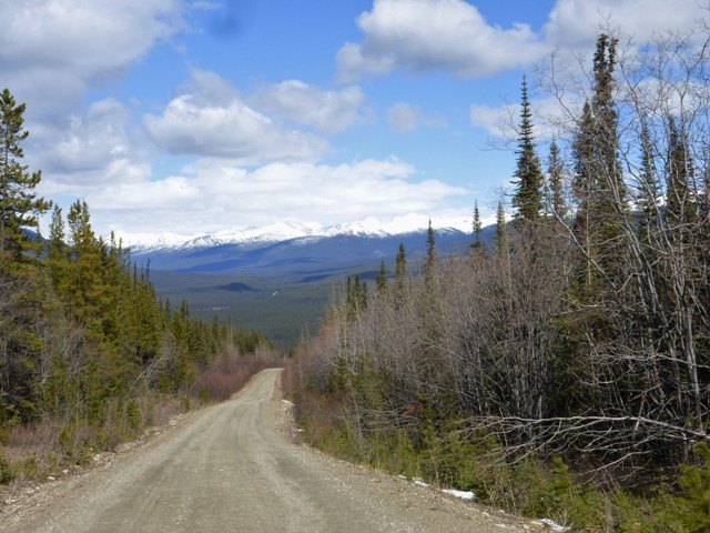The South Canol Road is 132 miles long and runs through some beautiful and very remote country. There are no towns, services or even signs of humans besides the road itself. It felt like one of the most remote places we have ever visited.
