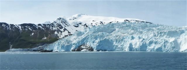 Massive glaciers.