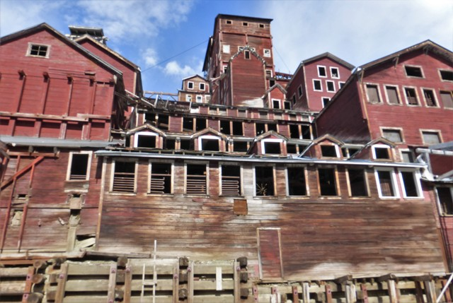 The mill is the largest wooden structure in Alaska.