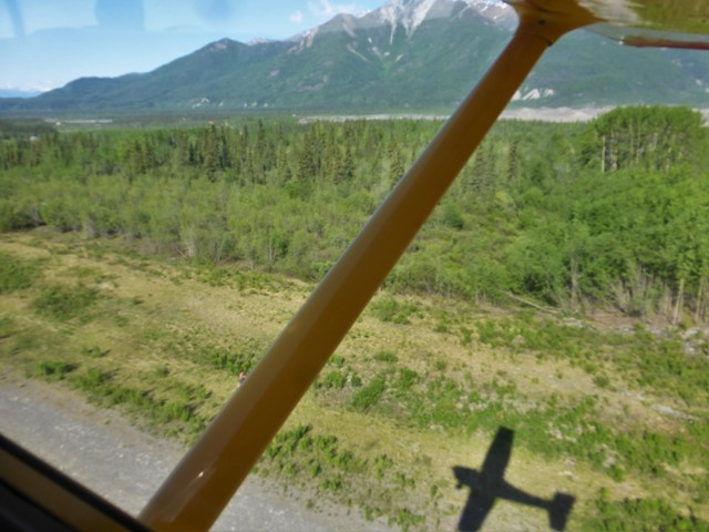Bush flying has a long and illustrious history in Alaska; very few roads means that small aircraft are a must for reaching the many homes and small villages forsaken (for good reason!) by Alaska DOT.    Come along now and enjoy the incredible scenery as seen from our four-seat Cessna 172…
